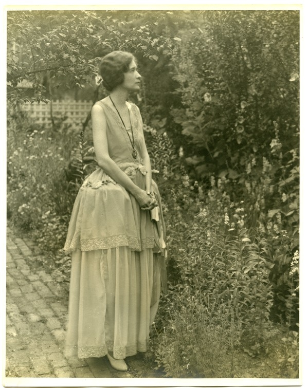 Mary in the Garden
