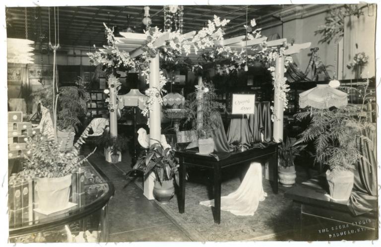 Interior of Rudy's Department Store