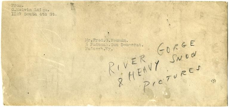 Envelope from Luigs to Neuman