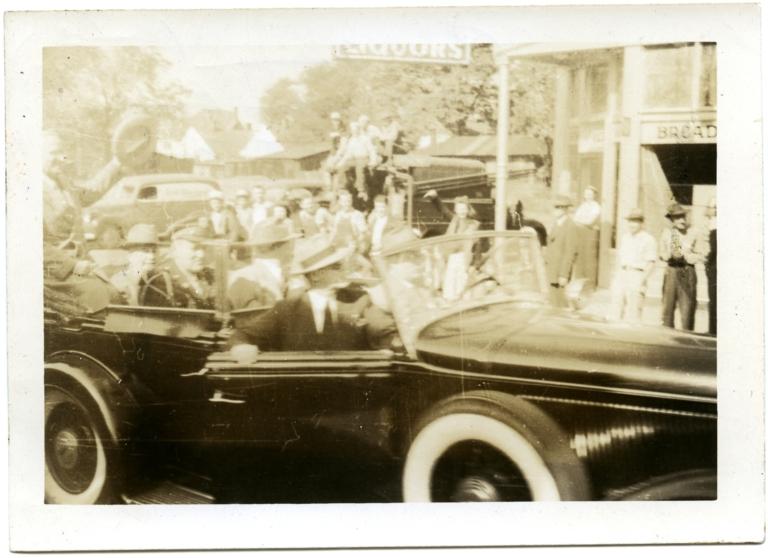 Alben Barkley and Harry Truman