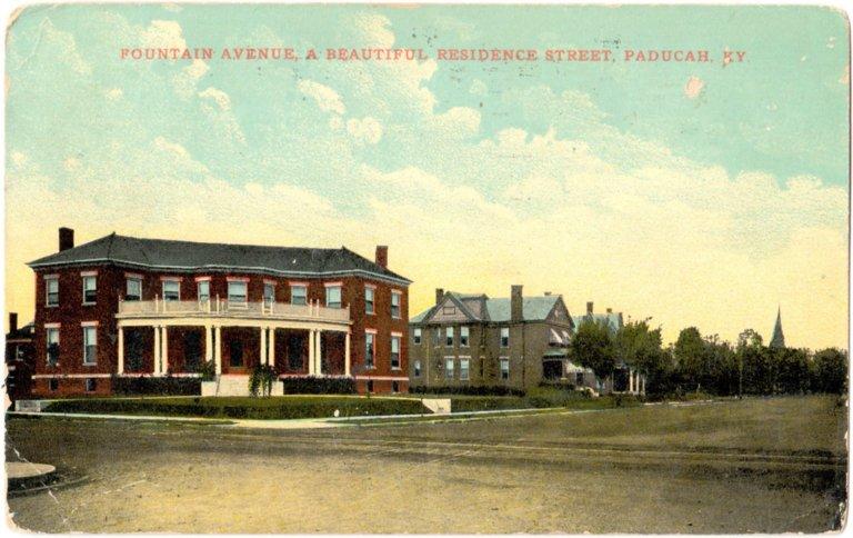 Fountain Avenue, A Beautiful Residence Street, Paducah, KY
