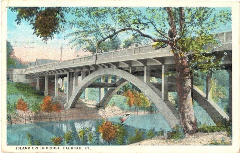Island Creek Bridge, Paducah, KY.