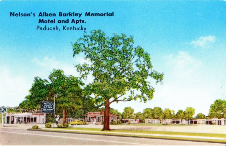 Nelson's Alben Barkley Memorial Motel and Apts., Paducah, Kentucky