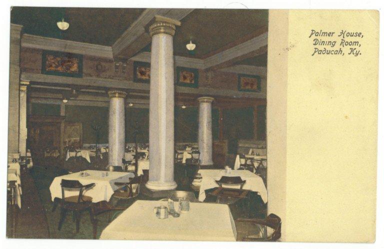 Palmer House, Dining Room, Paducah, Ky.