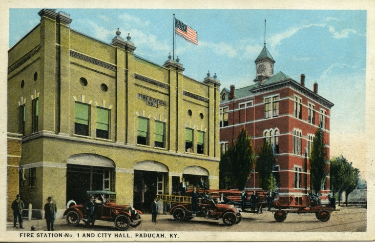 Fire station No. 1 and city hall in Paducah (KY)