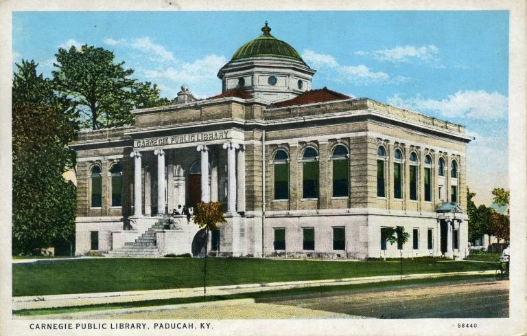 Carnegie Public Library in Paducah (KY)