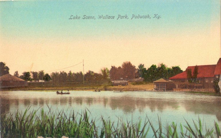 Lake Scene, Wallace Park, Paducah, KY