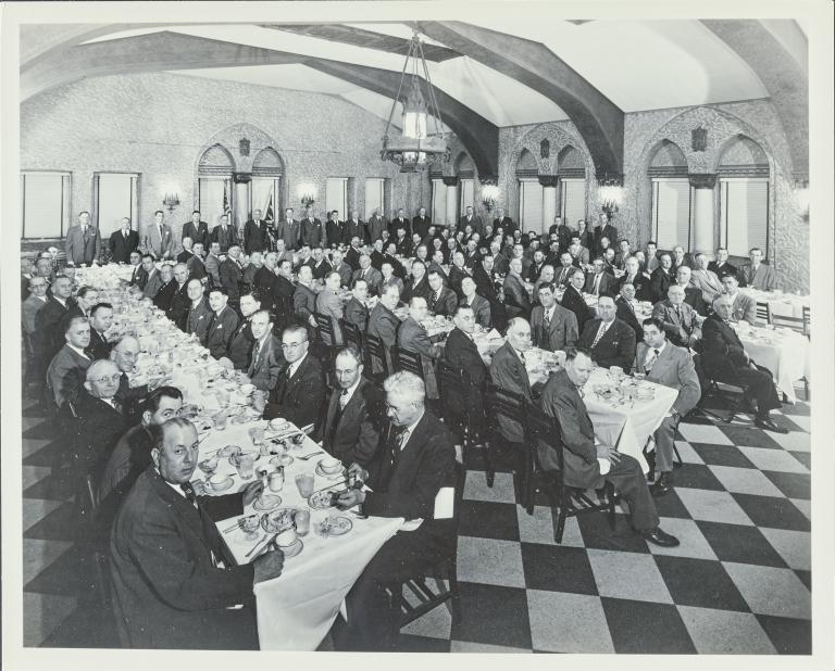 Illinois Central Railroad Banquet