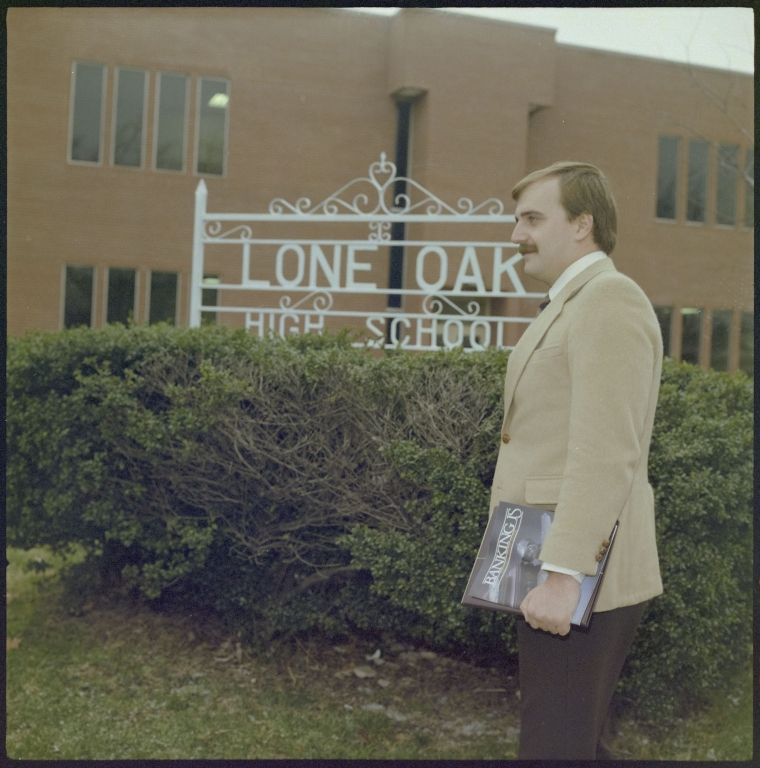 Bank Employee at High School