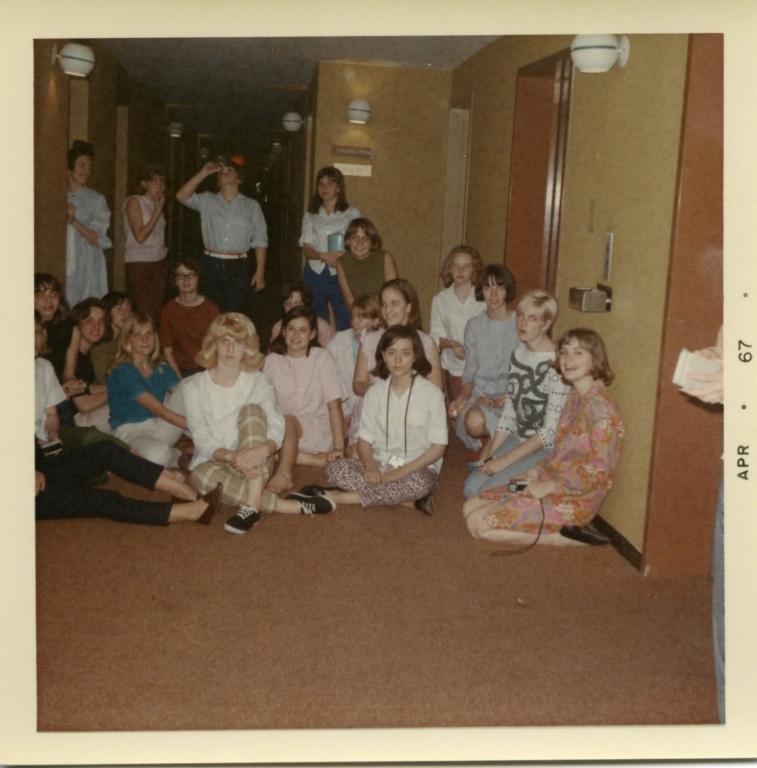 Heath High School band at Cherry Blossom Festival in Washington, D.C. in 1969