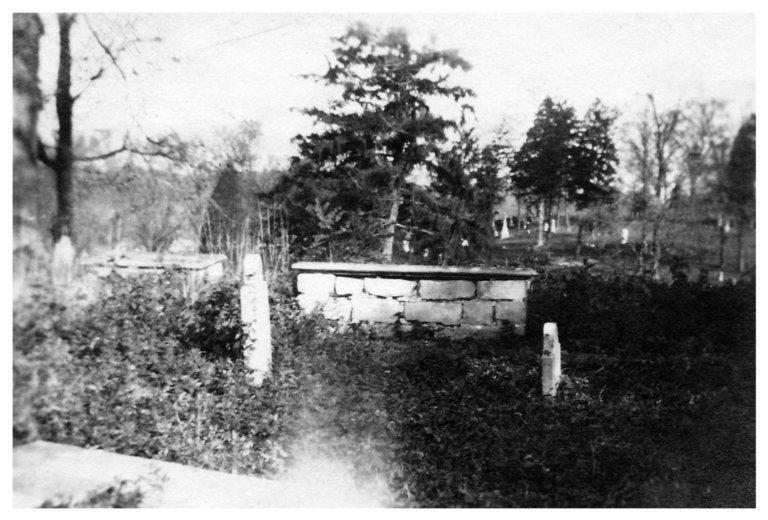Grave of J. C. Lynes (1823-1831)