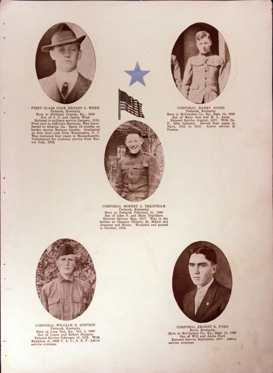 WWI Honor Roll Page 116
