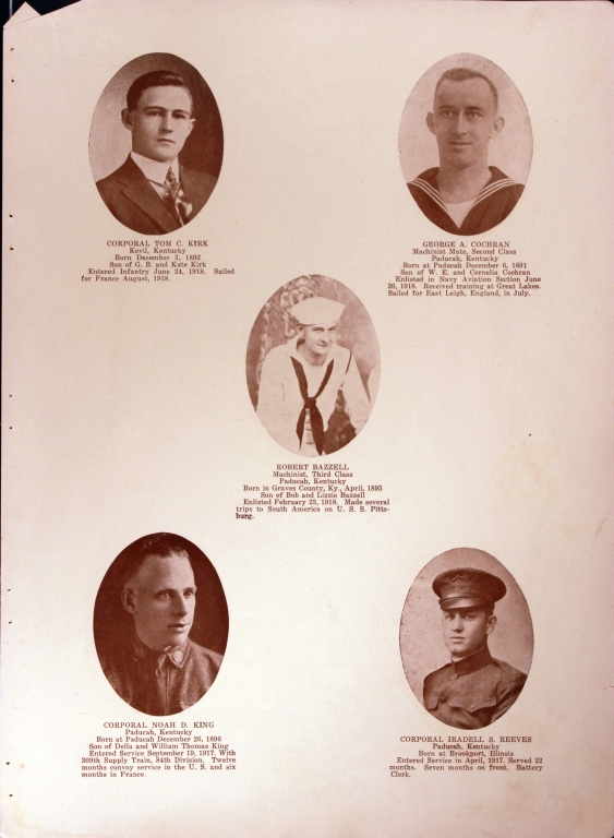WWI Honor Roll Page 130