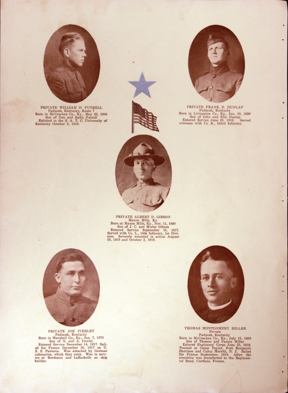 WWI Honor Roll Page 141