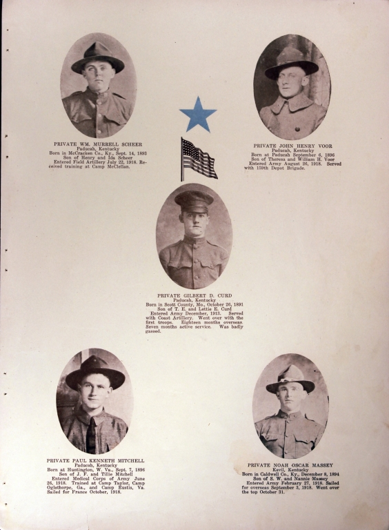 WWI Honor Roll Page 144