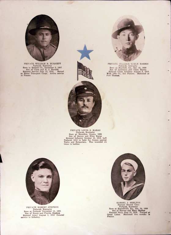 WWI Honor Roll Page 163