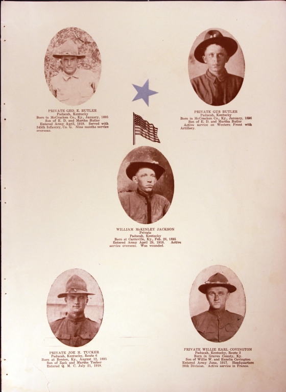 WWI Honor Roll Page 178
