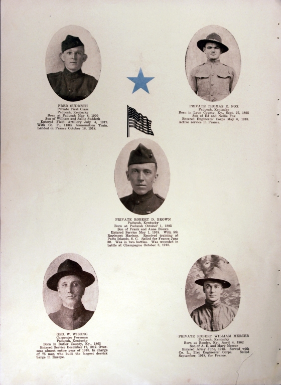WWI Honor Roll Page 179