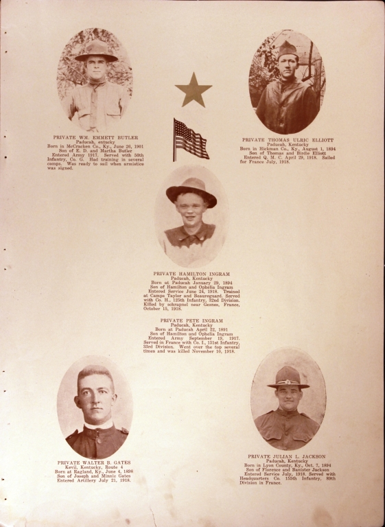 WWI Honor Roll Page 180