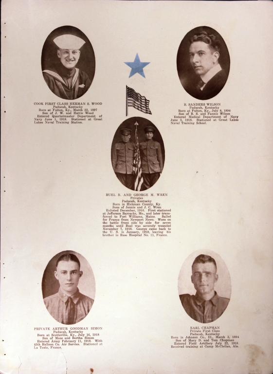 WWI Honor Roll Page 182
