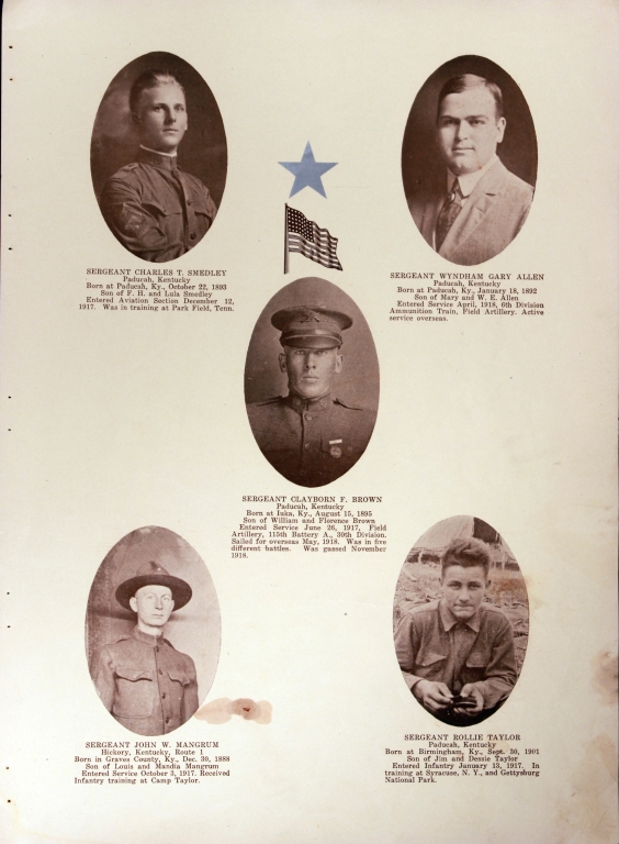 WWI Honor Roll Page 094