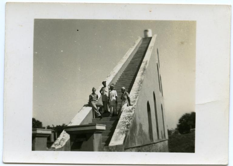 James at Jantar Mantar