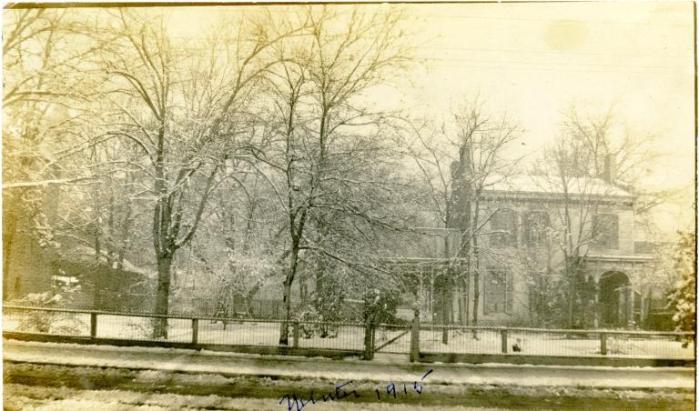 Winter Street Scene in Paducah