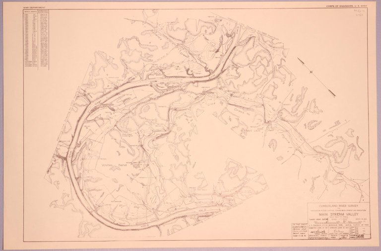 Cumberland River Survey 5681