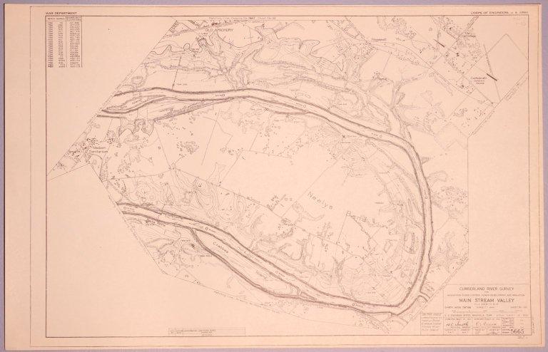 Cumberland River Survey 5665