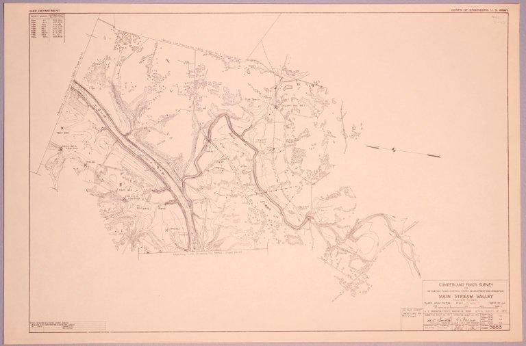 Cumberland River Survey 5663