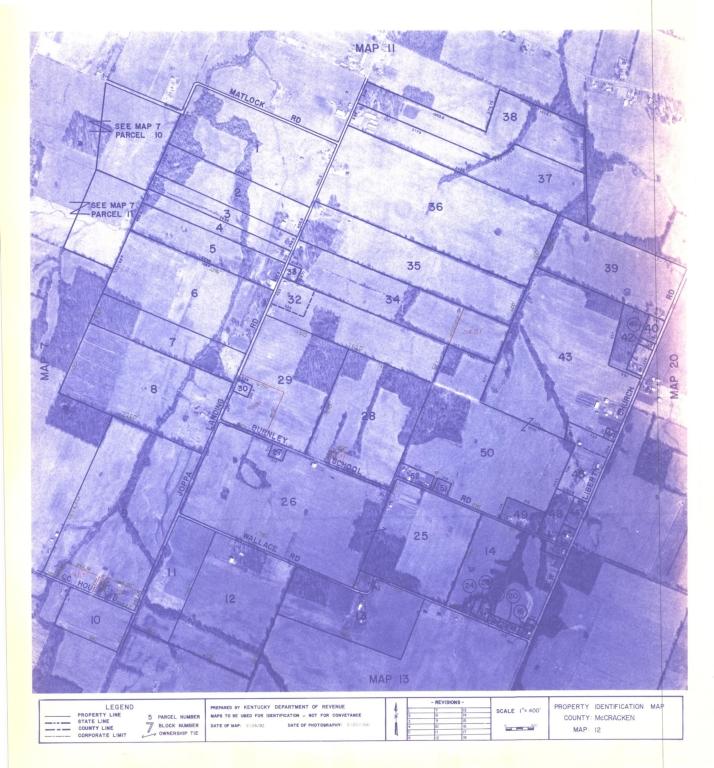 Property Identification Map McCracken County, Map 12