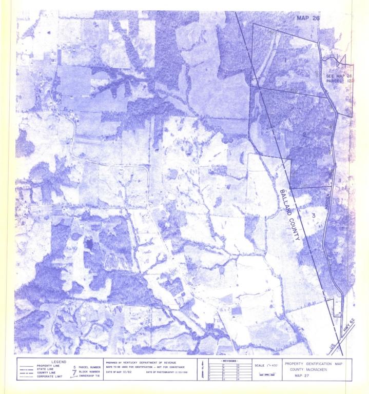 Property Identification Map McCracken County, Map 27