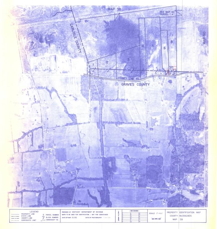 Property Identification Map McCracken County, Map 39