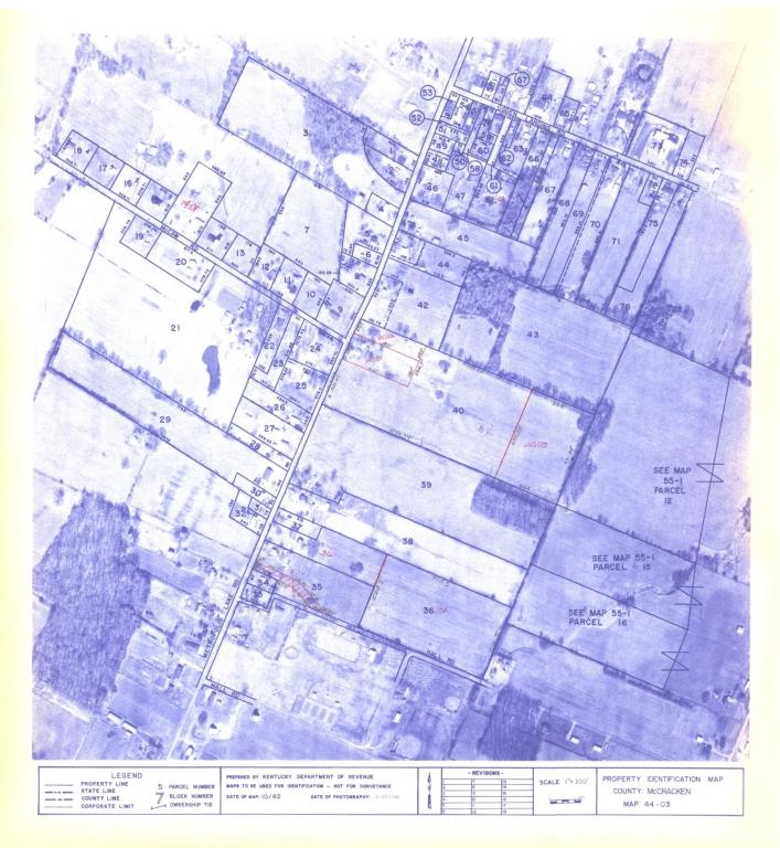 Property Identification Map McCracken County, Map 44-3