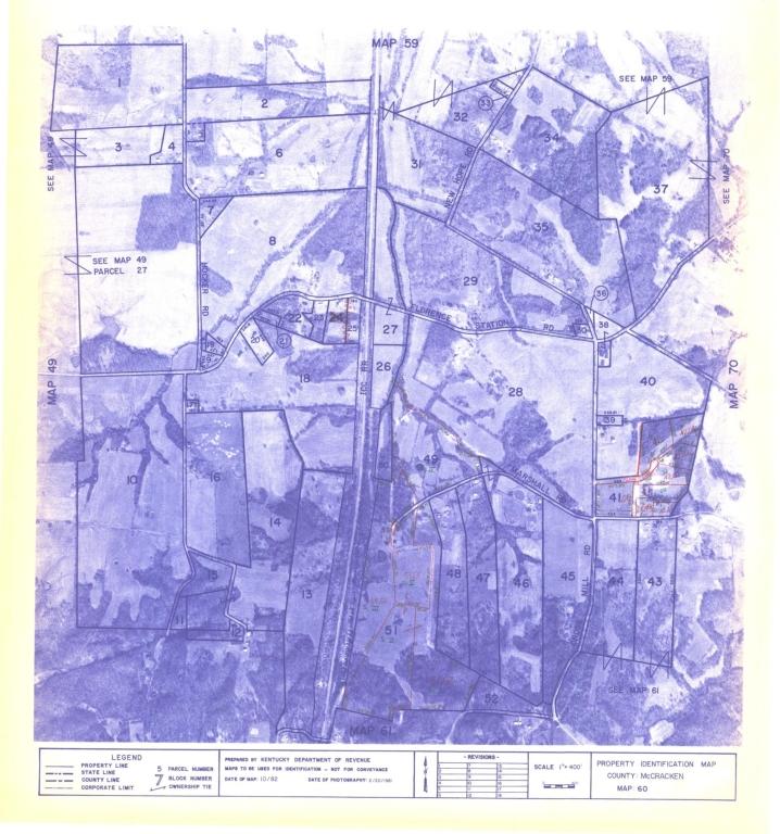 Property Identification Map McCracken County, Map 60