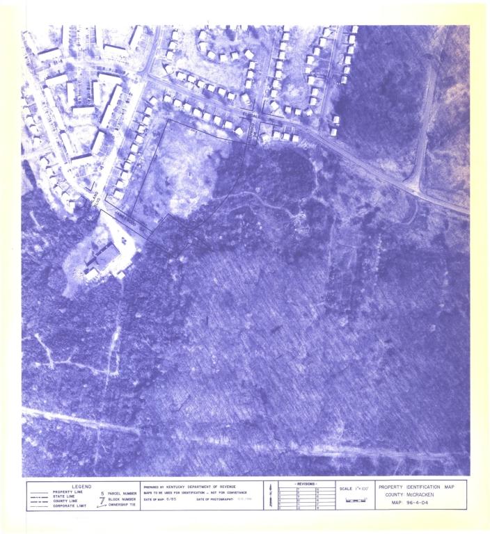 Property Identification Map McCracken County, Map 96-4-04