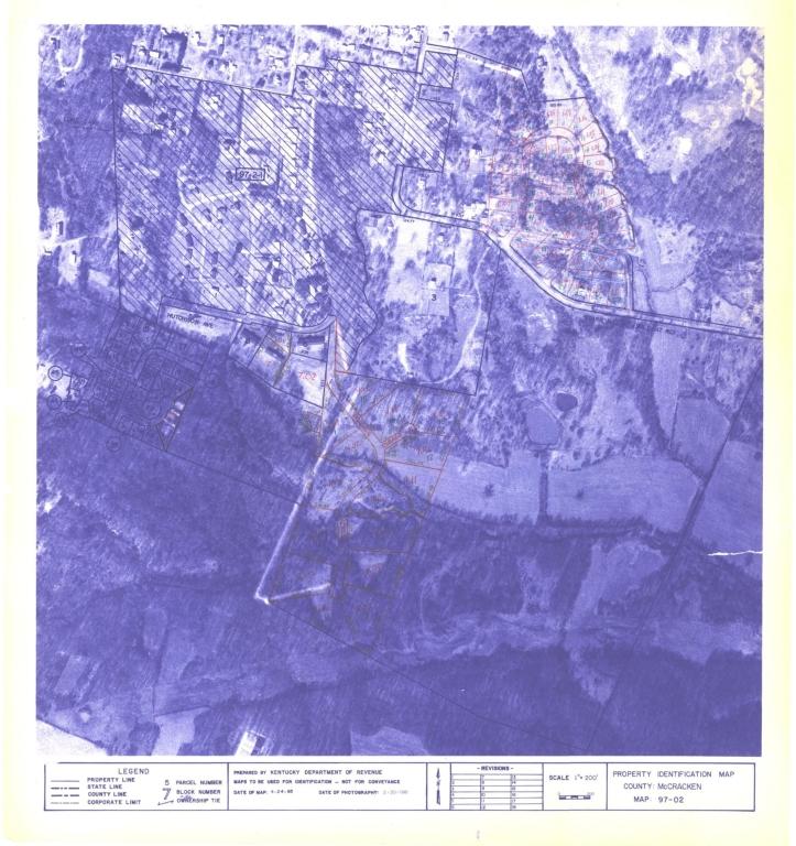 Property Identification Map McCracken County, Map 97-02