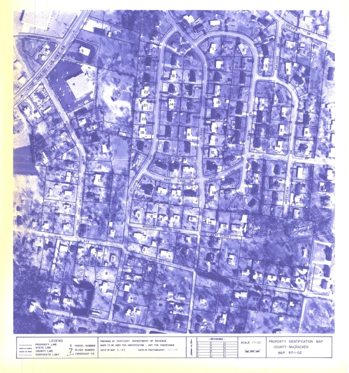 Property Identification Map McCracken County, Map 97-02-02