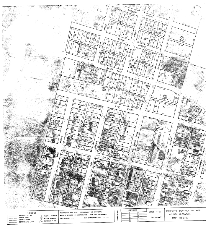Property Identification Map McCracken County, Map 103-02-02