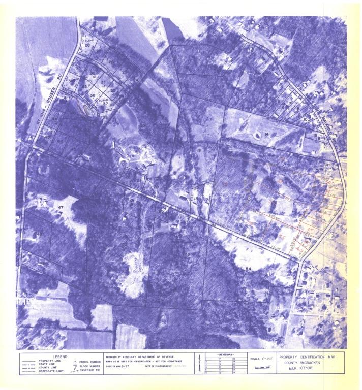 Property Identification Map McCracken County, Map 107-02
