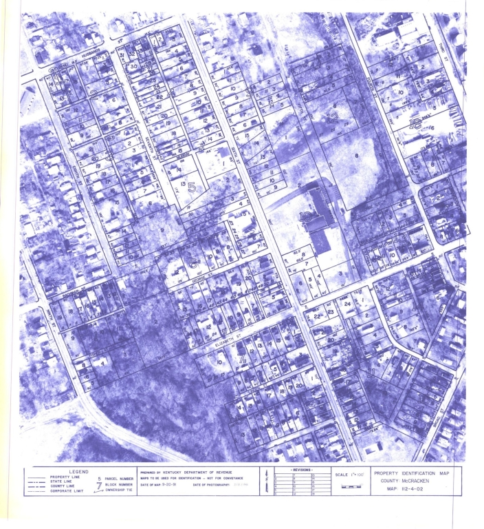 Property Identification Map McCracken County, Map 112-4-02
