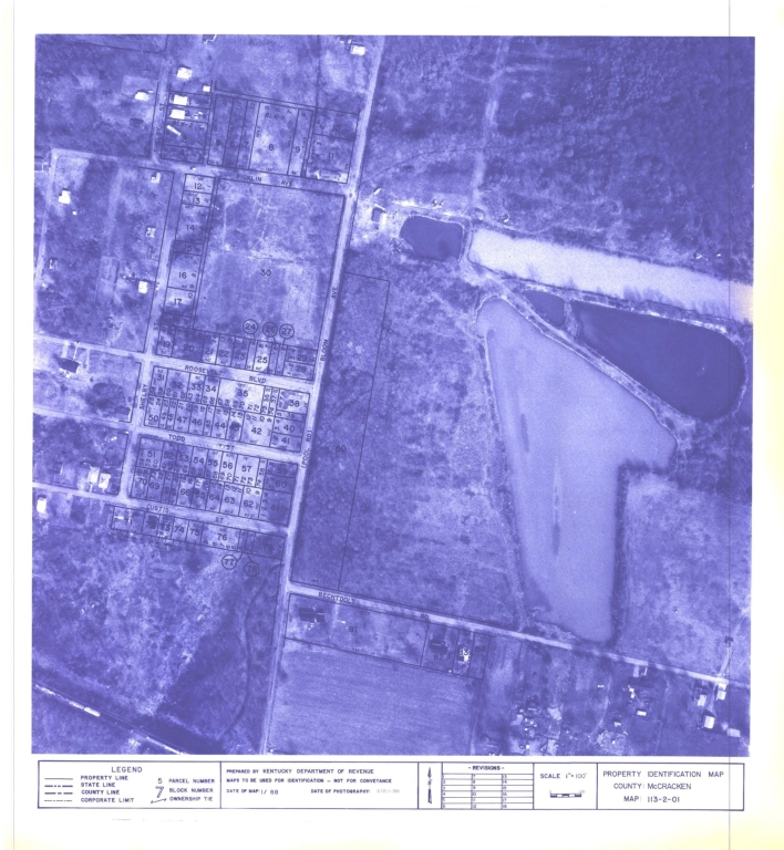 Property Identification Map McCracken County, Map 113-2-01
