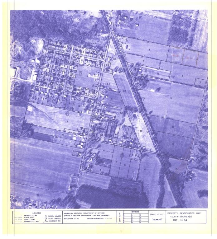 Property Identification Map McCracken County, Map 114-04