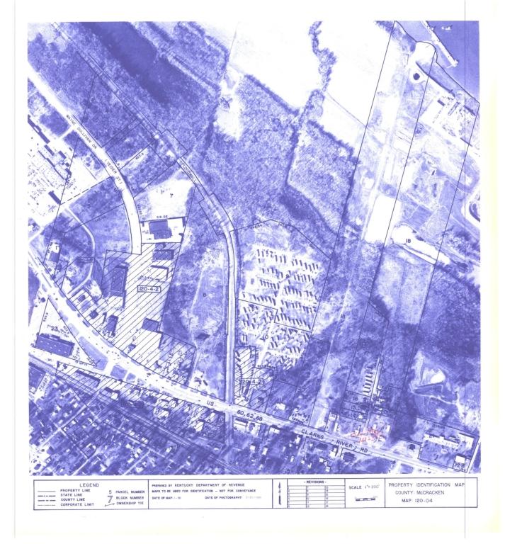 Property Identification Map McCracken County, Map 120-04