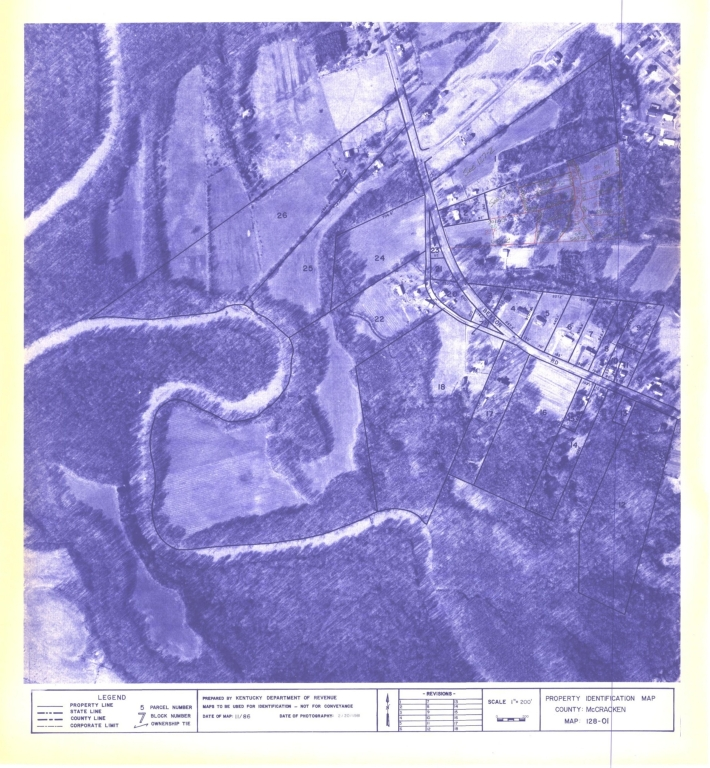 Property Identification Map McCracken County, Map 128-10