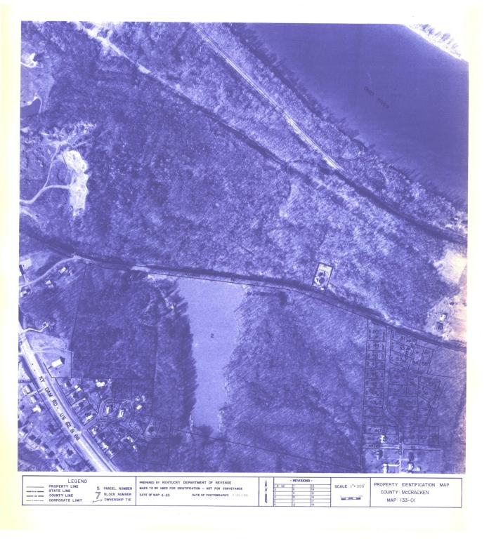 Property Identification Map McCracken County, Map 133-01
