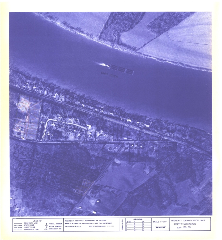 Property Identification Map McCracken County, Map 133-03