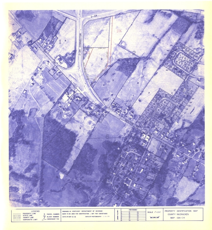 Property Identification Map McCracken County, Map 134-04