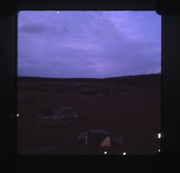 Night at base
