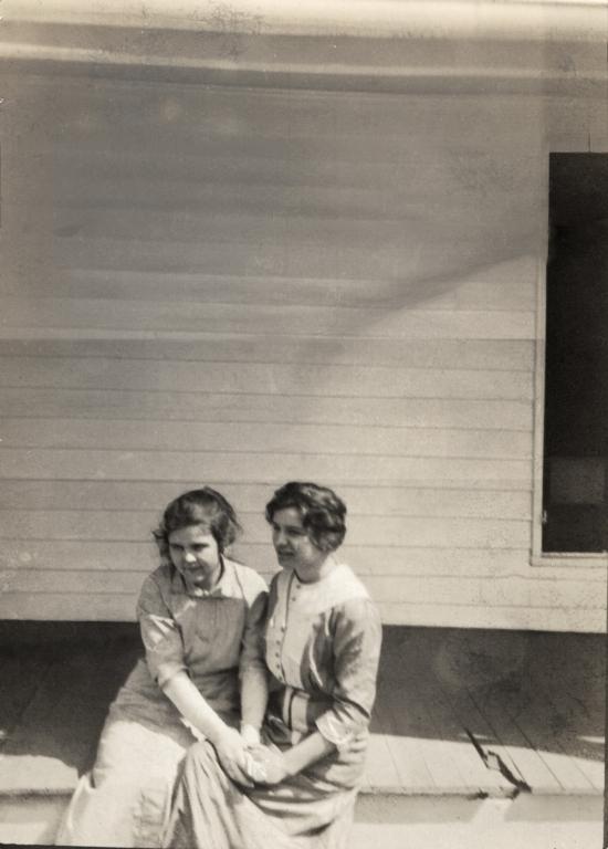 Eddie Tucker and Virginia Holland